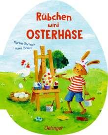 Heinz Brand: Rübchen wird Osterhase, Buch