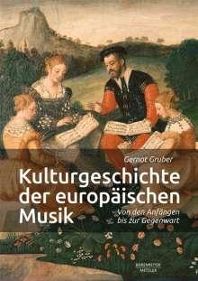 Kulturgeschichte der europäischen Musik, Buch