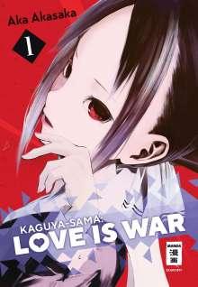 Aka Akasaka: Kaguya-sama: Love is War 01, Buch