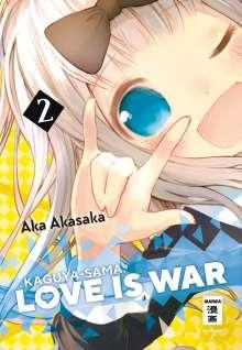 Aka Akasaka: Kaguya-sama: Love is War 02, Buch