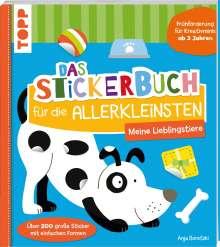 Anja Boretzki: Das Stickerbuch für die Allerkleinsten - Meine Lieblingstiere, Buch