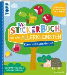 Anja Boretzki: Das Stickerbuch für die Allerkleinsten - Komm mit in den Garten!, Buch