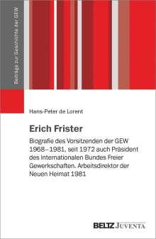 Hans-Peter de Lorent: Erich Frister, Buch