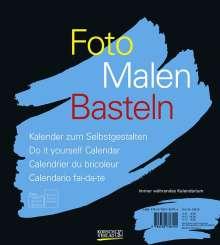 Foto-Malen-Basteln schwarz (klein), Diverse
