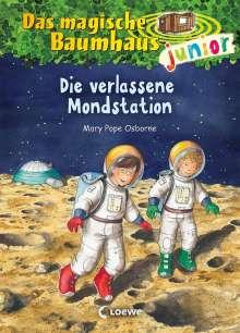 Mary Pope Osborne: Das magische Baumhaus junior 08 - Die verlassene Mondstation, Buch