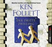 Ken Follett (geb. 1949): Der dritte Zwilling, 4 CDs