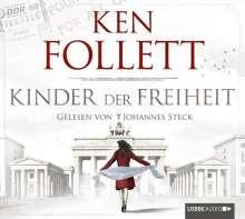 Ken Follett (geb. 1949): Kinder der Freiheit, 12 CDs