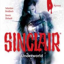 John Sinclair - Staffel 2: Underworld - Folge 1: Kyvos, CD