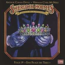 Sir Arthur Conan Doyle: Sherlock Holmes - Folge 39, CD