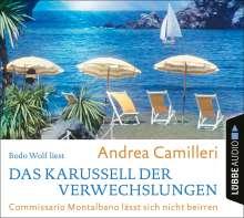 Das Karussell der Verwechslungen: Commissario Mont, 4 CDs