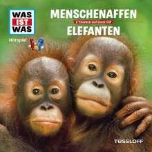 Was ist was Folge 33: Menschenaffen/Elefanten, CD