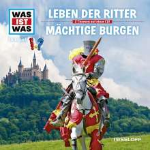 Manfred Baur: Was ist was Folge 04: Ritter / Burgen, CD