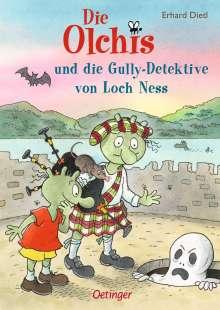 Erhard Dietl: Die Olchis und die Gully-Detektive von Loch Ness, Buch
