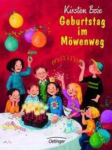 Kirsten Boie: Geburtstag im Möwenweg, Buch