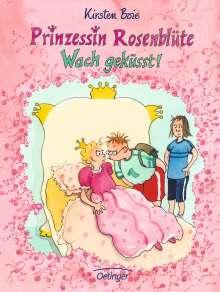 Kirsten Boie: Prinzessin Rosenblüte. Wach geküsst!, Buch