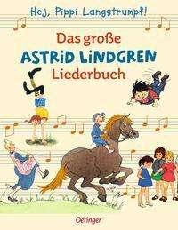 Das große Astrid Lindgren Liederbuch, Buch