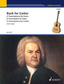Johann Sebastian Bach: Bach for Guitar, Noten