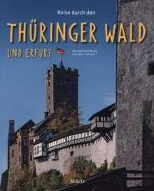 Ernst-Otto Luthardt: Reise durch den Thüringer Wald und Erfurt, Buch
