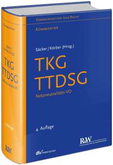 Franz Jürgen Säcker: TKG - Telekommunikationsgesetz, Buch