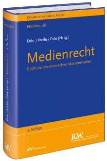 Dieter Dörr: Medienrecht, Buch