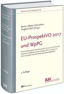 Carsten Berrar: EU-ProspektVO 2017 und WpPG, Buch
