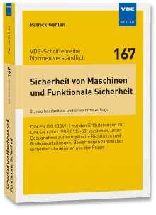 Patrick Gehlen: Sicherheit von Maschinen und Funktionale Sicherheit, Buch