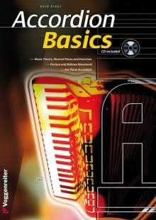 Herbert Kraus: Basics Akkordeon, m. Audio-CD, Noten