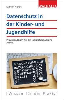 Marion Hundt: Datenschutz in der Kinder- und Jugendhilfe, Buch