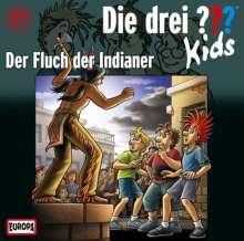Ulf Blanck: Die drei ??? Kids 37. Der Fluch der Indianer (Fragezeichen), CD