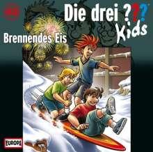 Ulf Blanck: Die drei ??? Kids 40: Brennendes Eis (Fragezeichen), CD