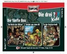 Ulf Blanck: Die drei ??? Kids 3er Box - Folgen 13-15 (Fragezeichen), 3 CDs