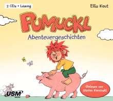 Ellis Kaut: Pumuckl - Abenteuergeschichten, 2 CDs