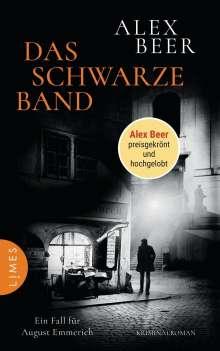 Alex Beer: Das schwarze Band, Buch