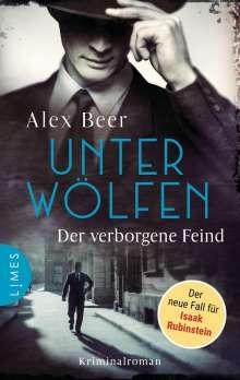 Alex Beer: Unter Wölfen - Der verborgene Feind, Buch