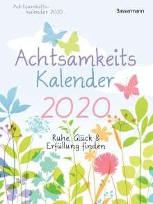 Nina Andres: Achtsamkeitskalender 2020 - Abreißkalender, Diverse