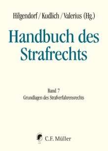 Handbuch des Strafrechts 07, Buch
