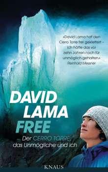 David Lama: Free, Buch