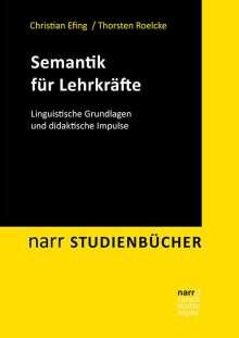 Christian Efing: Semantik für Lehrkräfte, Buch