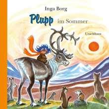 Inga Borg: Plupp im Sommer, Buch