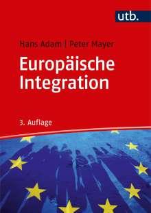 Hans Adam: Europäische Integration, Buch