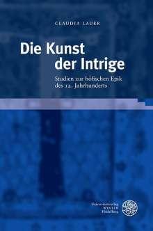 Claudia Lauer: Die Kunst der Intrige, Buch