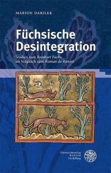 Marion Darilek: Füchsische Desintegration, Buch