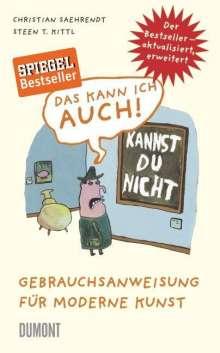 Christian Saehrendt: Das kann ich auch!, Buch