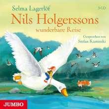 Selma Lagerlöf: Nils Holgerssons wunderbare Reise, 3 CDs