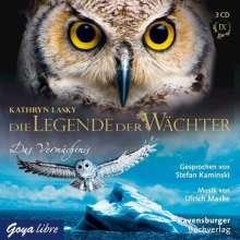 Kathryn Lasky: Die Legende der Wächter 09: Das Vermächtnis, 3 CDs