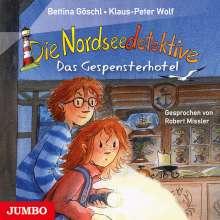 Bettina Göschl: Die Nordseedetektive (2) Das Gespensterhotel, CD