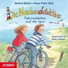Klaus-Peter Wolf: Die Nordseedetektive (4) Fahrraddieben auf der Spur, CD