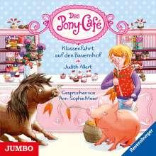 Judith Allert: Das Pony-Café. Klassenfahrt auf den Bauernhof [6], CD