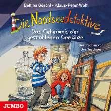 Klaus-Peter Wolf: Die Nordseedetektive (8) Das Geheimnis der gestohlenen Gemälde, CD
