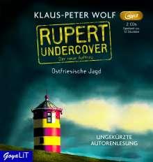 Klaus-Peter Wolf: Rupert undercover. Ostfriesische Jagd, 2 Diverse